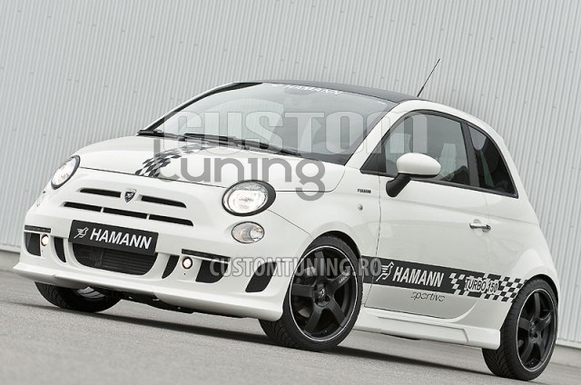 body kit hamann body kit fiat 500 fiat tuning hamann romania. Black Bedroom Furniture Sets. Home Design Ideas
