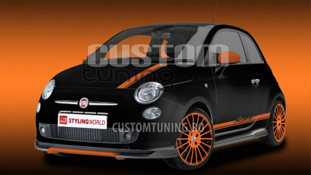 body kit fiat 500 body kit ms design fiat tuning ms design romania. Black Bedroom Furniture Sets. Home Design Ideas