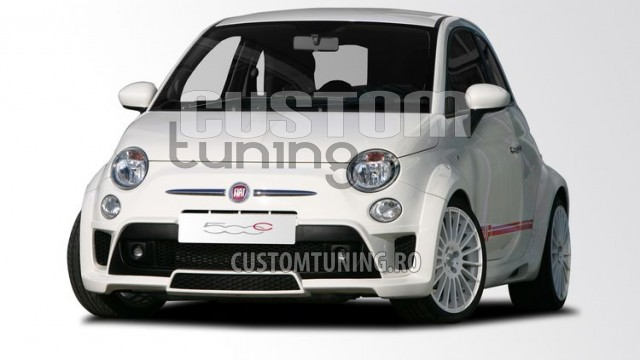 wide body kit fiat 500 body kit ms design fiat tuning ms design romania. Black Bedroom Furniture Sets. Home Design Ideas